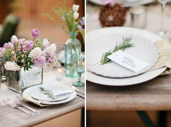 Modern Rustic Herb Inspired Wedding Ideas