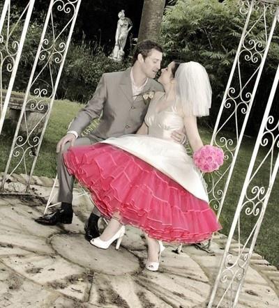Estilo Del Vestido De Boda Del Rockabilly De 1950 #2055384 - Weddbook