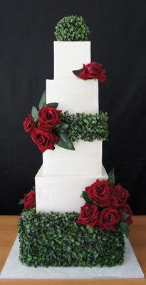 Hochzeit - Kuchen 2 Cupcakes