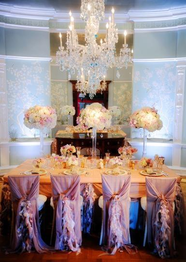 Parisian Wedding - Marie Antoinette Inspired Tablescape #2055628 ...