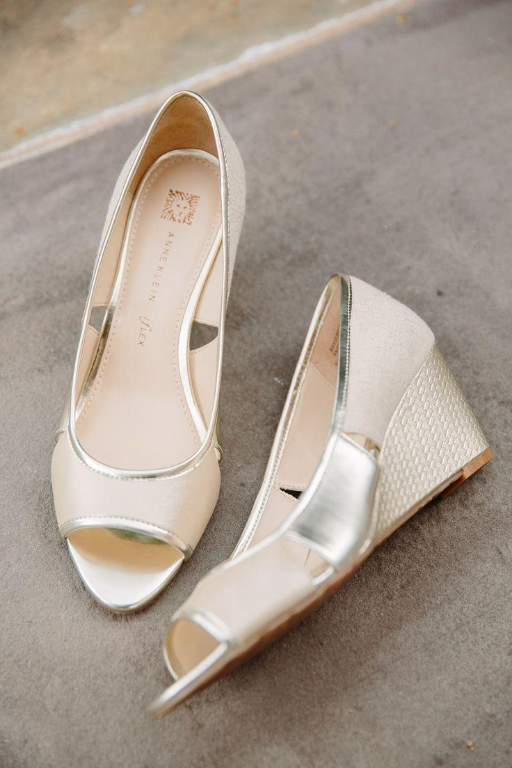 Wedding - Anne Klein Wedges