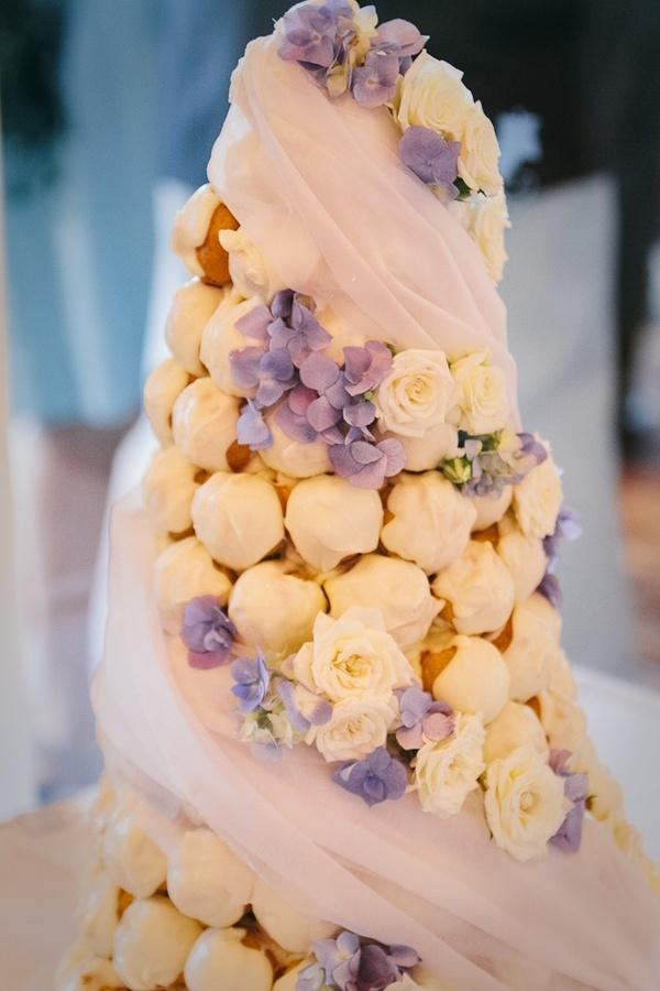 Croquembouches French Wedding Cake