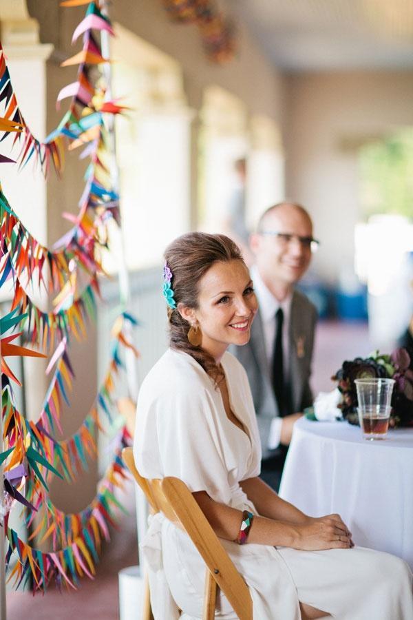 Wedding - A Geometric Rainbow Garland!