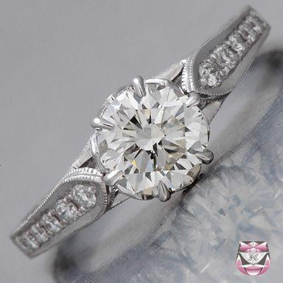 Mariage - Montage Edwardian bague de fiançailles