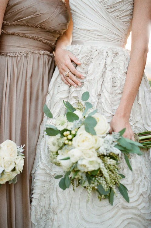 Mariage - Taupe, Ivoire & ruches
