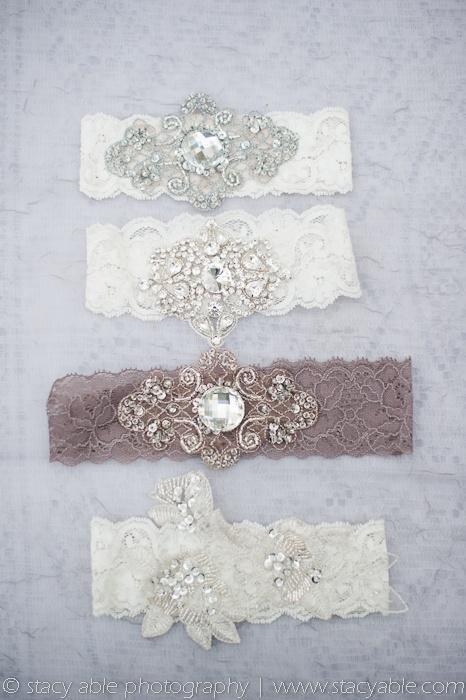 Hochzeit - Vintage inspirierte Strumpfbänder