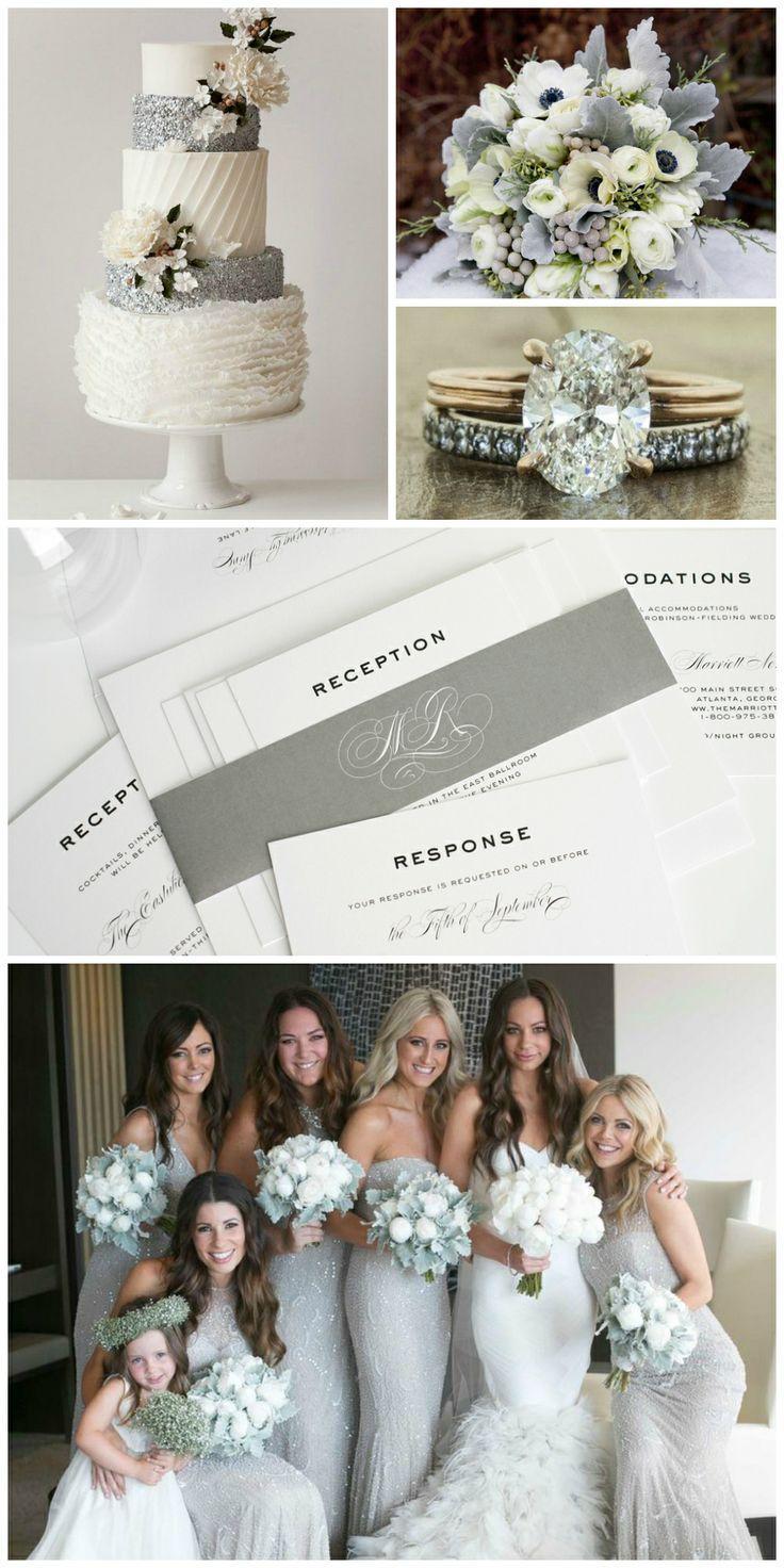 زفاف - الفضة الإلهام الزفاف