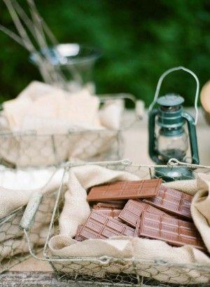 Mariage - Un scout Parti Aigle Camping Pour Stephen
