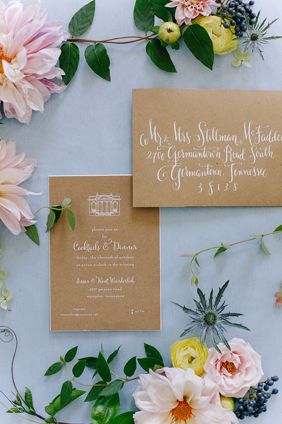 Wedding - Kraft Invitation Suite