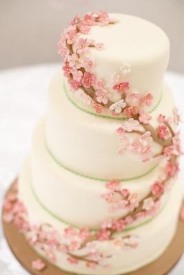 Mariage Oriental Gateau De Mariage De Fleurs De Cerisier