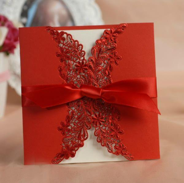 GO LACE Wedding Invitations 2014 Trends