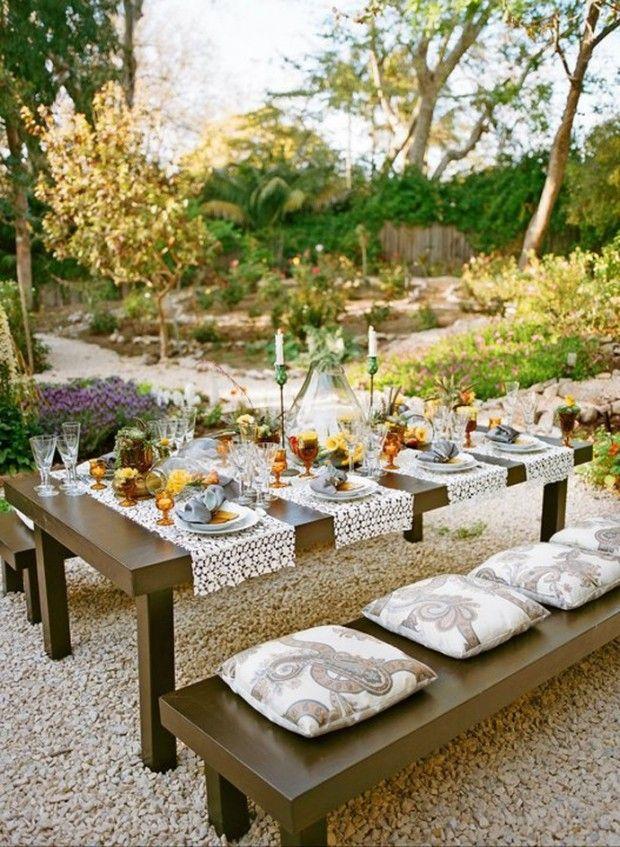 Mariage - 25 bonnes idées pour votre jardin