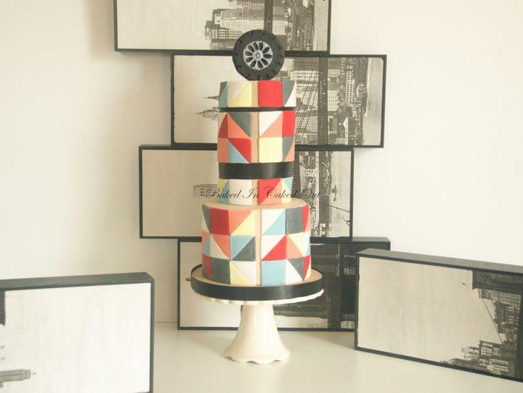 Modern Wedding - Art Deco Cake #2056734 - Weddbook