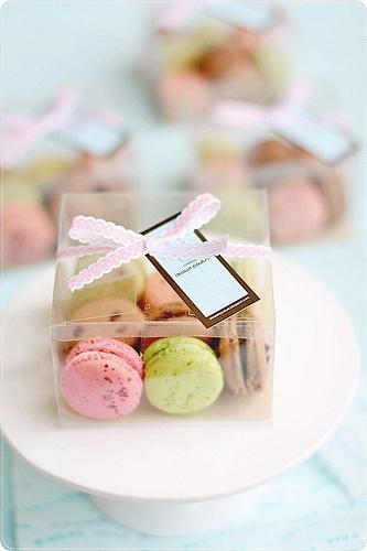 Essen Favor Makronen Hochzeitsgeschenke 2056741 Weddbook