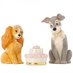 Disney Wedding Lady And The Tramp Cake Topper 2056799 Weddbook