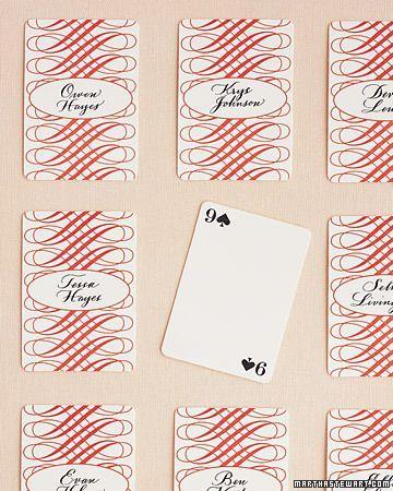 Свадьба - Игральные Карты