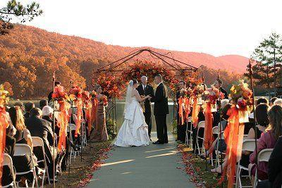 Свадьба - Оранжевый Фон Для Свадебная Осень