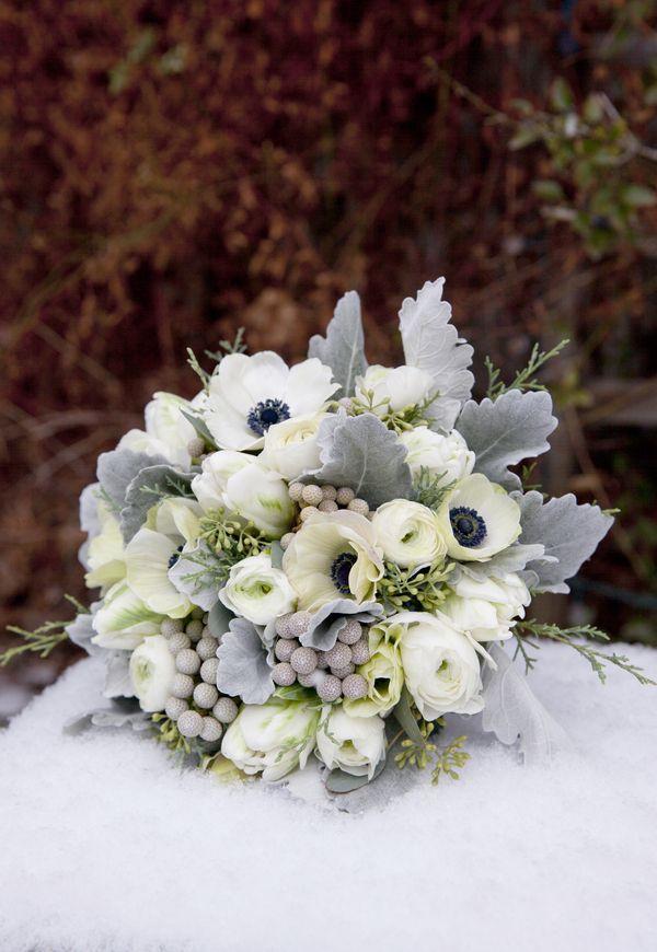 Wedding - An Elegant Blue, Gray & Silver Winter Wonderland Wedding At Queen's Landing Hotel