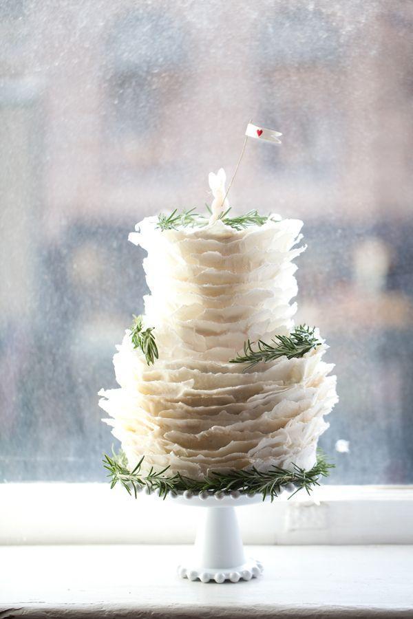 Wedding - Ruffles Delight - Wedding Cake