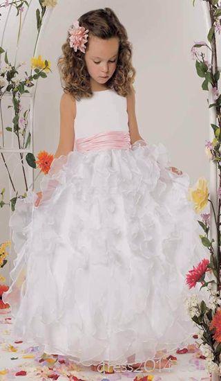 Zeremonie Blumenmdchen Kleid So Schn 2056926 Weddbook