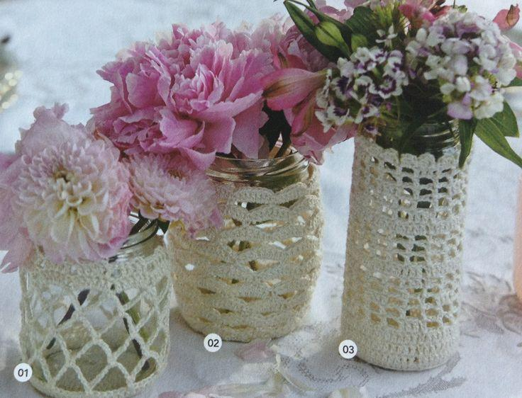 Crocheting Stuff : Mason Jar - More Crochet Jar Things #2056973 - Weddbook