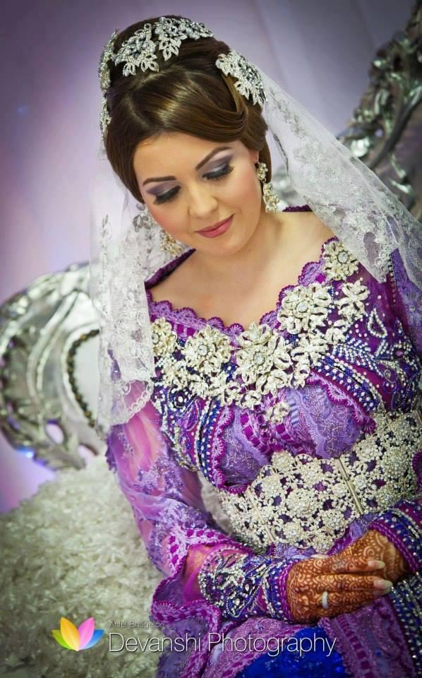 Wedding Dresses Asian Purple : Chinese wedding moroccan purple dress