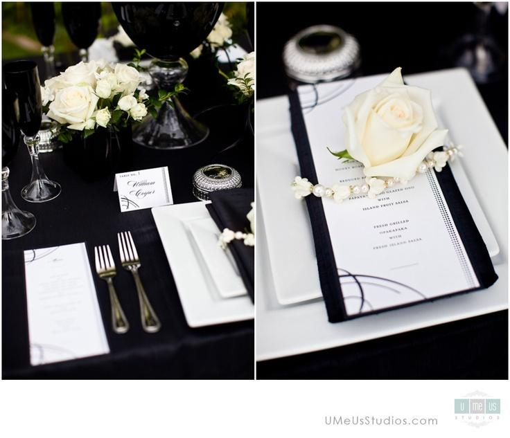 Wedding - Black   White Wedding Inspiration