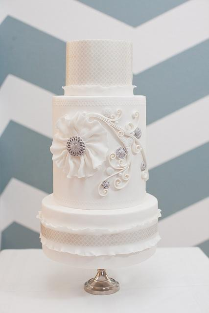 Wedding - Gorg Custom Design On Center Tier