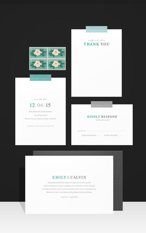 Свадьба - Современные Свадебные Приглашения