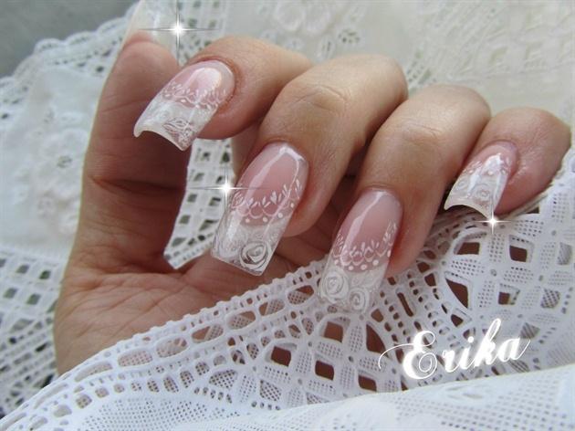 Wedding Nail Designs Bridal Wedding Nail Art 2057600 Weddbook