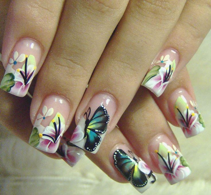 Beautiful French Nail Art Designs: Beautiful Nail Art #2057623