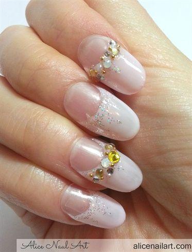 Wedding - Bridal Wedding Nail Art
