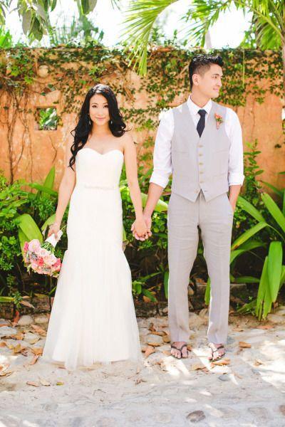 Свадьба - Тропический Женихи Стиль