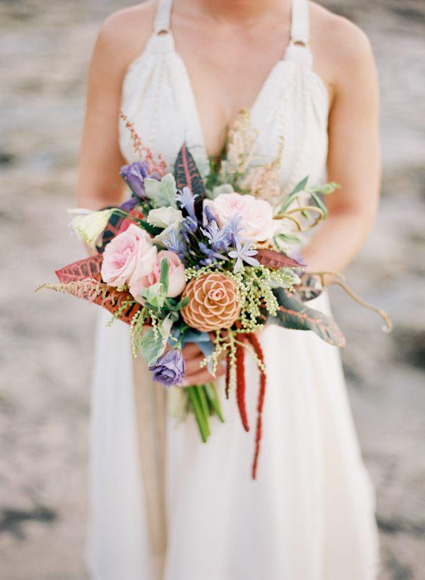 tropical wedding  costa rica beach wedding   weddbook, Natural flower