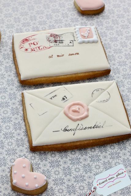 Hochzeit - E-Mail-Plätzchen. Durch Dessert Menü, bitte.