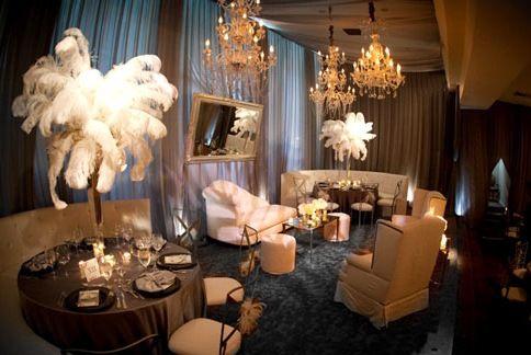 Great Gatsby Wedding - Old Hollywood Glam Wedding... #2058137 - Weddbook