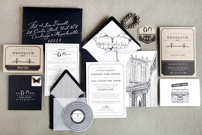 Wedding - Wedding Trends: Black And White Weddings
