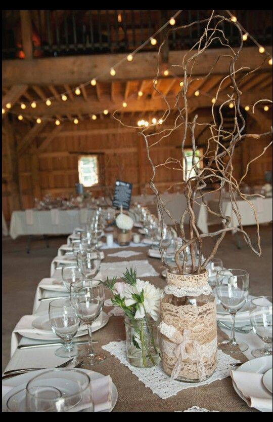 Mason Jar - Rustic Wedding Ideas #2058254 - Weddbook