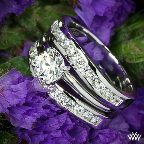 Mariage - Sets de bagues de fiançailles et des ensembles de mariée