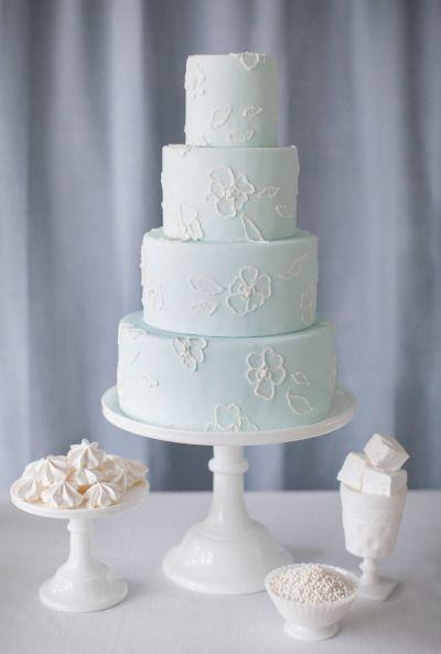Wedding Cupcakes Light Blue Wedding Cake 2058291 Weddbook
