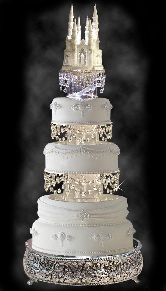 Swarovski Crystal Wedding Cake Tier Set