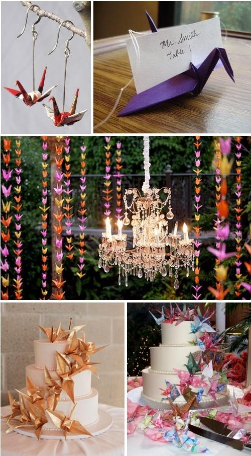 Oriental wedding 1000 paper cranes 2058557 weddbook for 1000 paper cranes wedding decoration