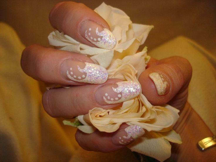 Wedding Nail Designs Pretty Wedding Nail Art Designs 2014 2058631