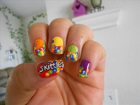 10 Tasty Candy Nail Art Designs - Wedding Candy - 10 Tasty Candy Nail Art Designs #2058798 - Weddbook