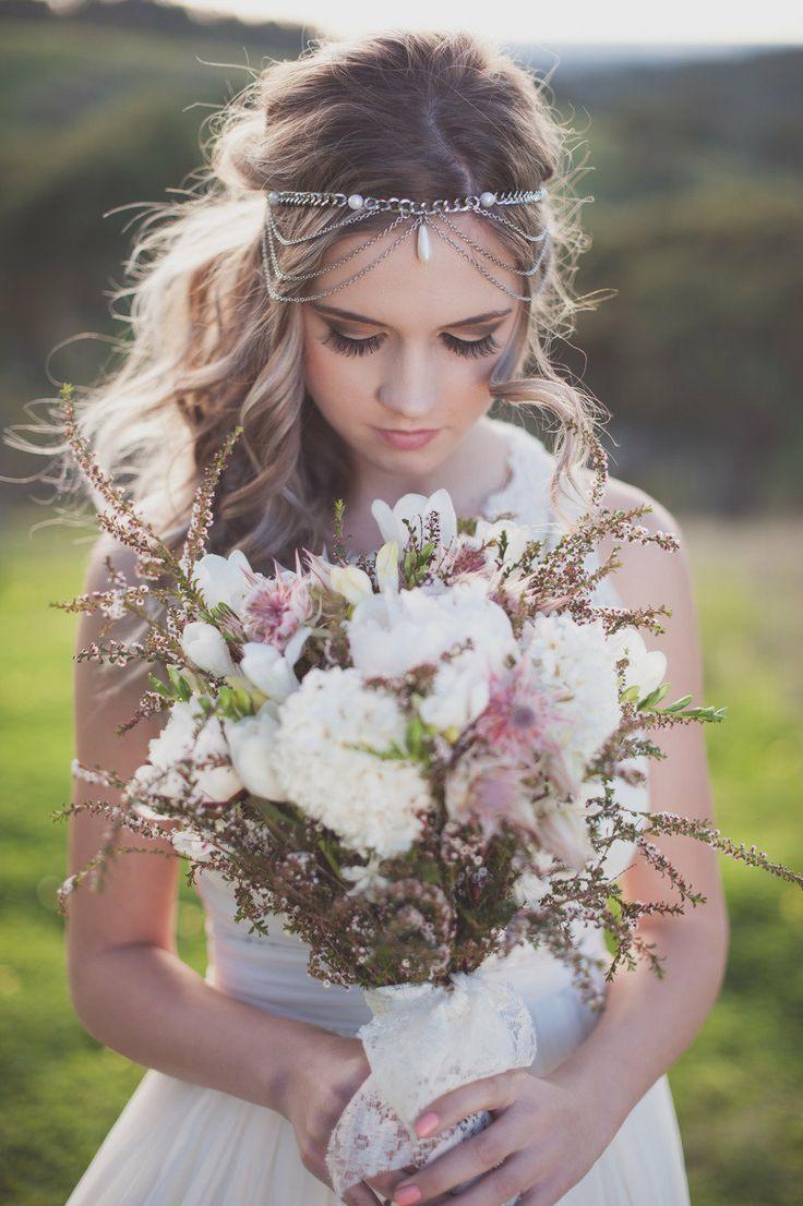 Свадьба - Boho Вдохновил Стрелять Из Люсинда, Возможно, Фотография