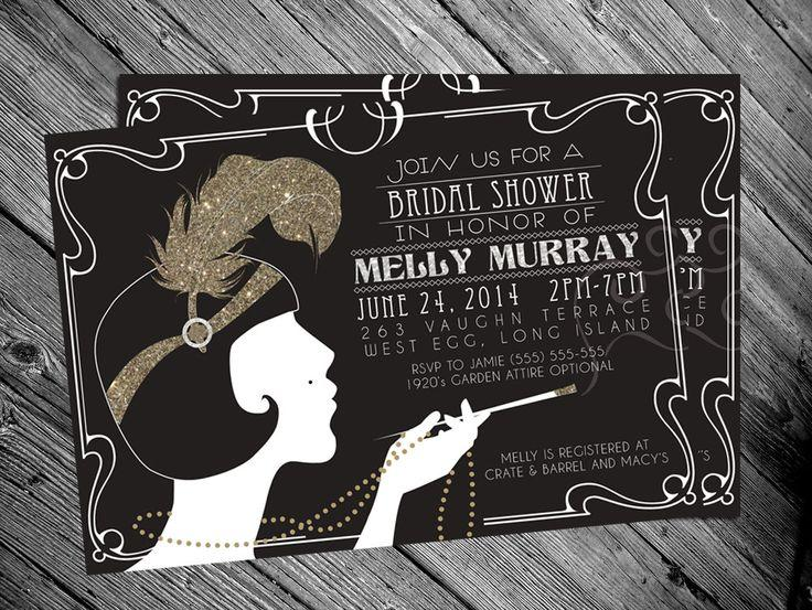 Hollywood Themed Invitation for awesome invitation design