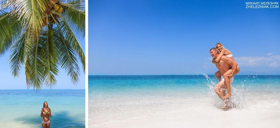 Mariage - Love Story на пляже
