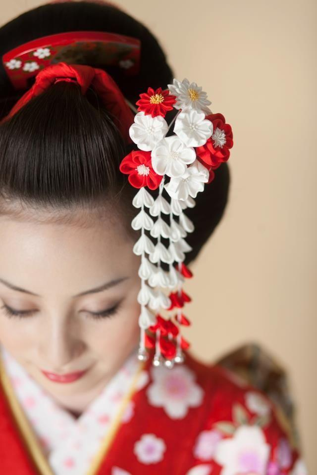 japanese hairstyles with hair pins japanese hair style