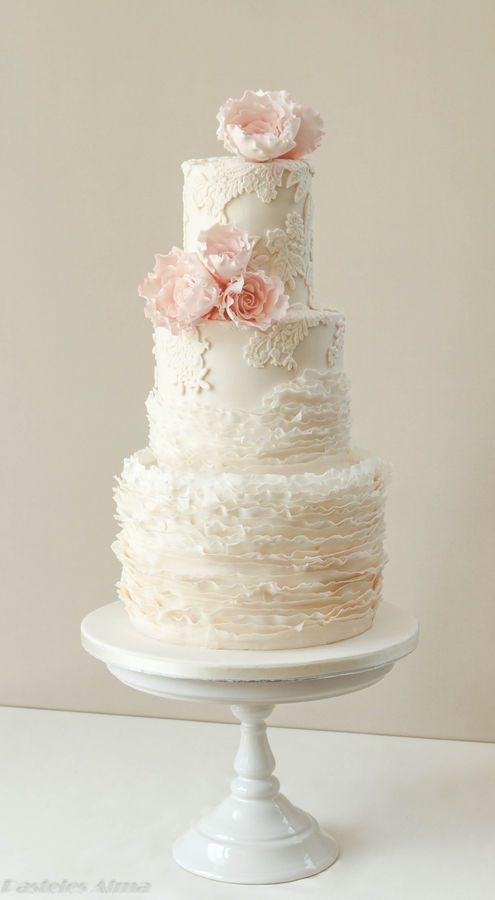 Boda - Encaje Pastel de boda