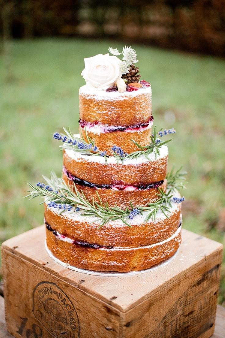 Rustic Cake Wedding